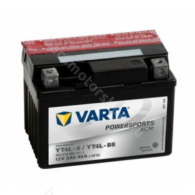 Akkumlátor Varta YTX4L-BS