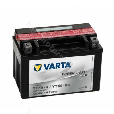 Akkumlátor Varta YTX9-BS
