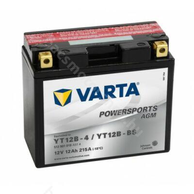 Akkumlátor Varta YT12B-BS