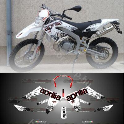 Matrica szett Aprilia RX50 2011 Fehér