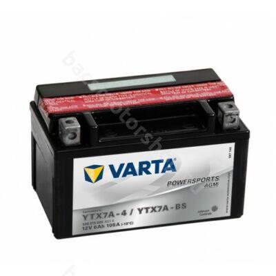Akkumlátor Varta YTX7A-BS