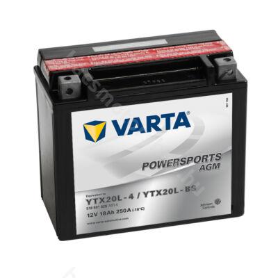 Akkumlátor Varta YTX20L-BS