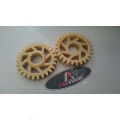 Kiegyenlítő tengely fogaskerék Rotax 122-123