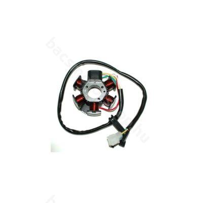 Gyújtás alaplap állórész (Minarelli AM6,  Derbi Senda -  EBS, Piaggio D50B)