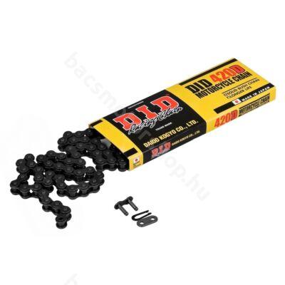 DID 420D normál lánc (134 tag) - Black Steel