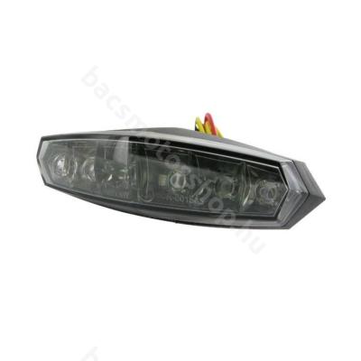 Koso LED univerzális hátsó lámpa (Szürke)