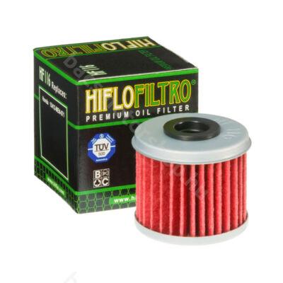 Hiflofiltro motorkerékpár olajszűrő HF116