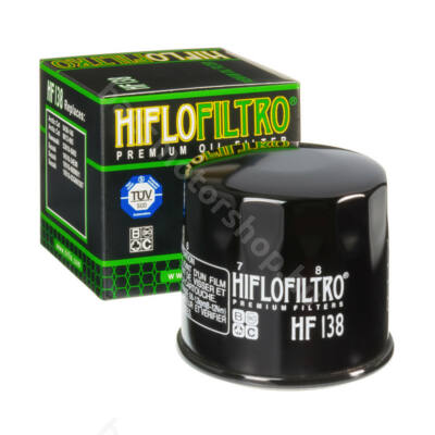 Hiflofiltro motorkerékpár olajszűrő HF138