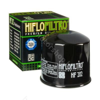 Hiflofiltro motorkerékpár olajszűrő HF202