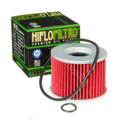 Hiflofiltro motorkerékpár olajszűrő HF401