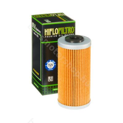 Hiflofiltro motorkerékpár olajszűrő HF611