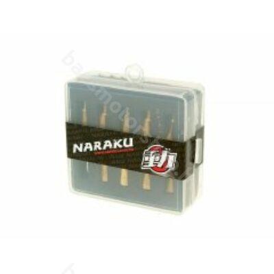 Naraku Performance főfúvóka szett (PWK 120-138) (10db)