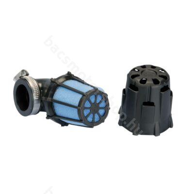 Polini Racing védőházas sportlégszűrő (Kicsi - 37 mm - Döntött 90 fok)