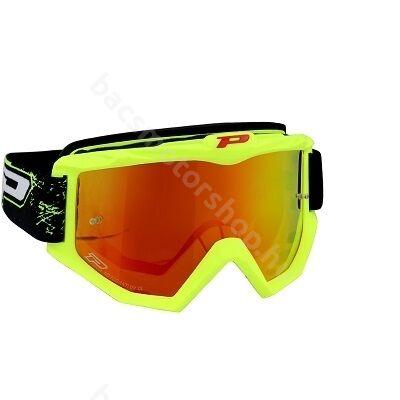 ProGrip cross szemüveg neon sárga